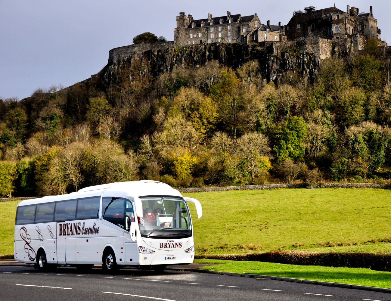 Bryans Coaches, Denny, Central Scotland
